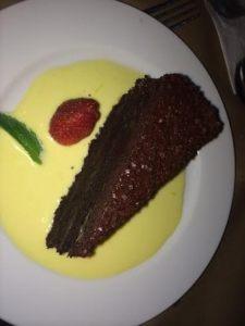 Dyron's Dark Chocolate Cake